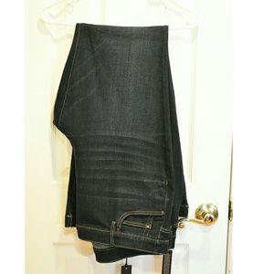 NWTS A.N.A Dark Wash Flare/Wide Leg Jeans